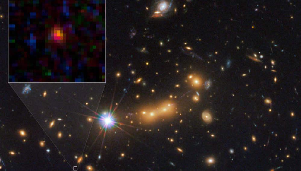 La galaxia MACS0647-JD