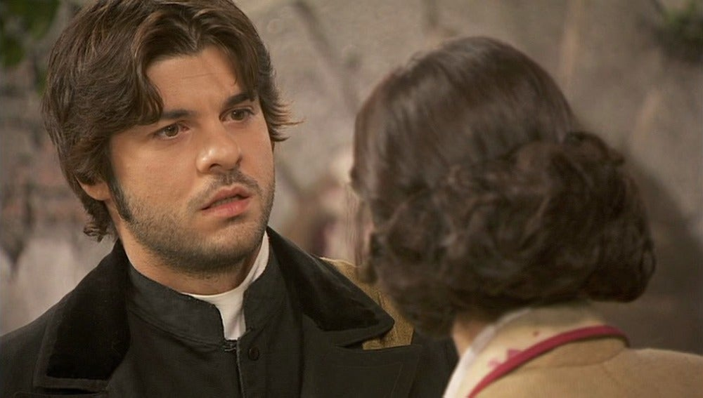 Gonzalo le pide a María que no se case
