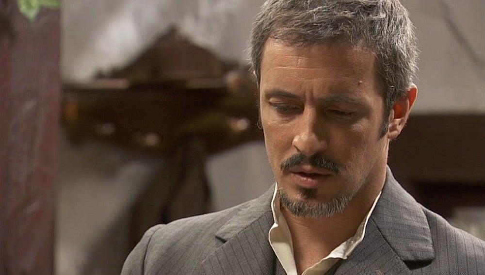 Alfonso descubre un telegrama de Raimundo