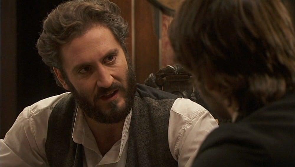 Tristán sospecha que Francisca está detrás de la muerte de Pepa