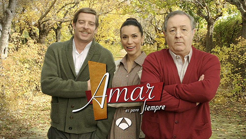 """""""El amor no termina, Amar es para siempre en Antena 3"""""""