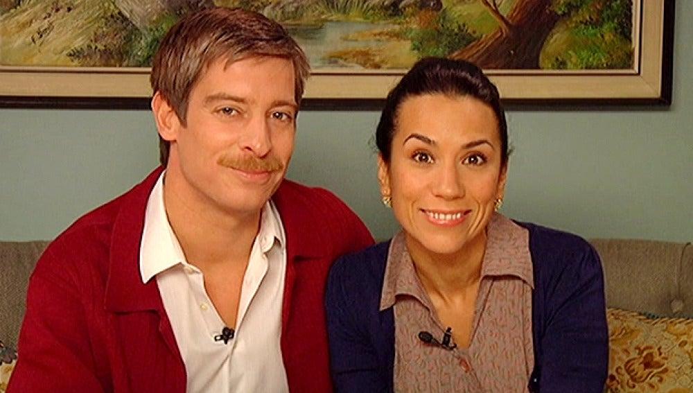 Manolita y Marcelino te dan la bienvenida a 'Amar es para siempre'