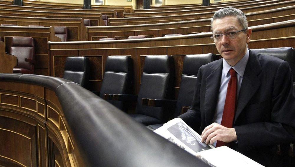 Gallardón en el Congreso, imagen de archivo
