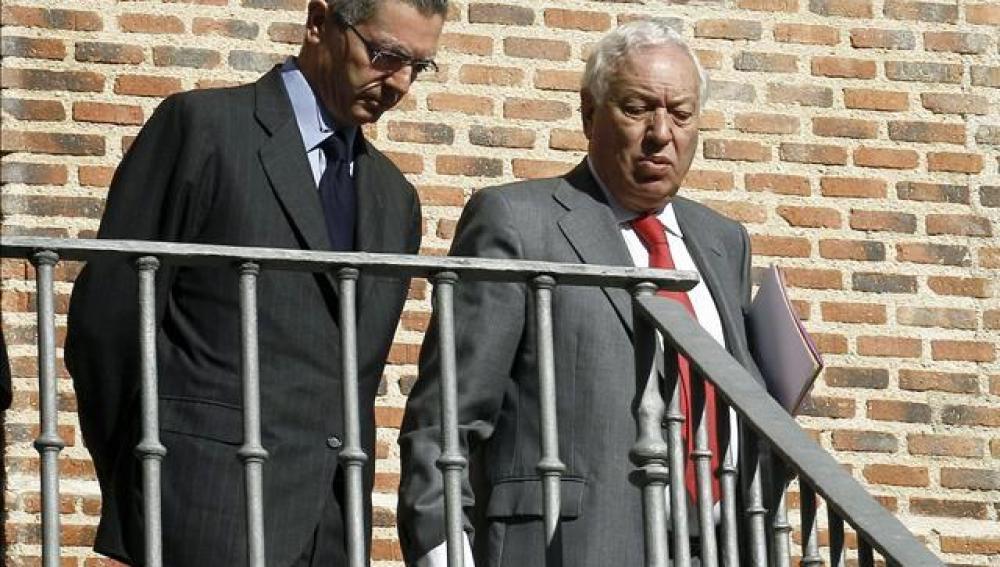 Alberto Ruiz-Gallardón y José Manuel García-Margallo