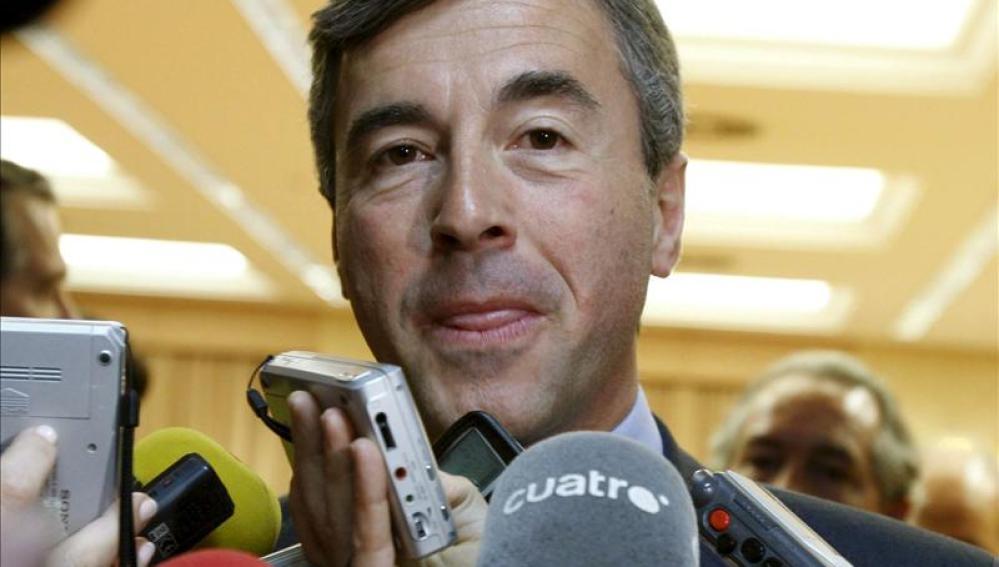 El exministro de Justicia e Interior, Ángel Acebes