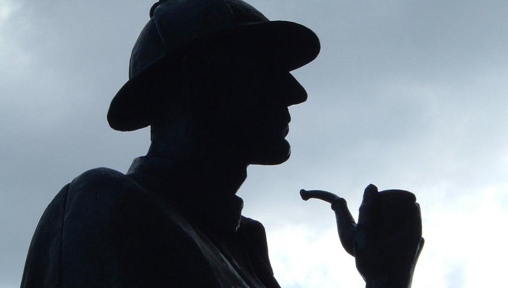 Estatua de Sherlock Holmes en Baker Street