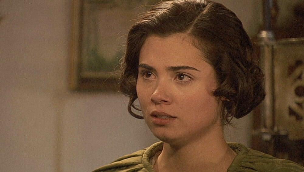 María pide explicaciones a Gonzalo
