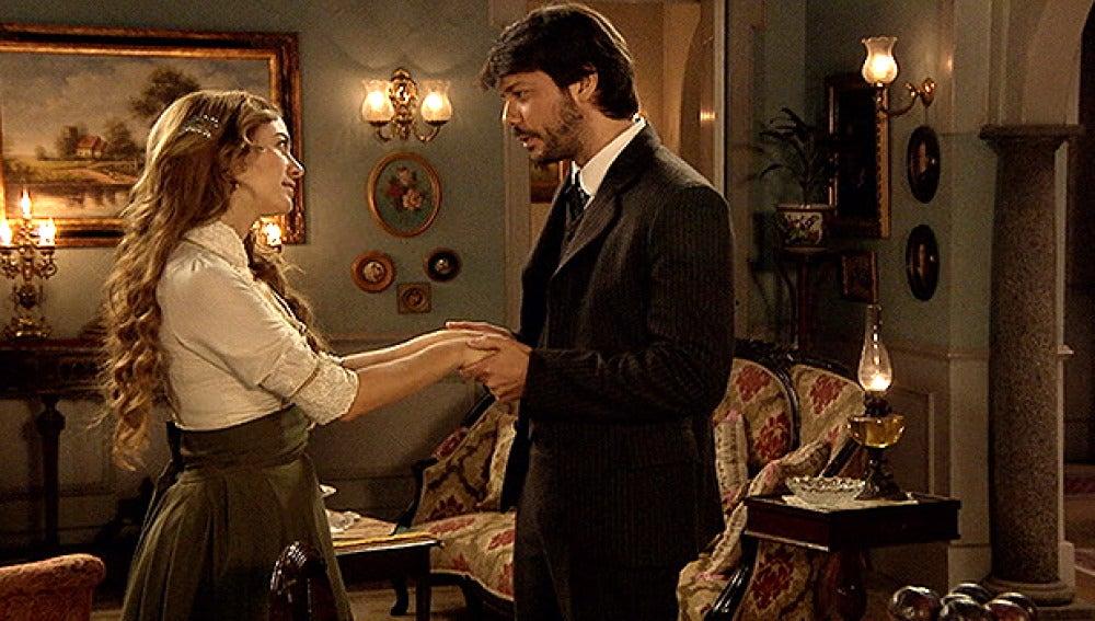 Adolfo y Sara se reencuentran