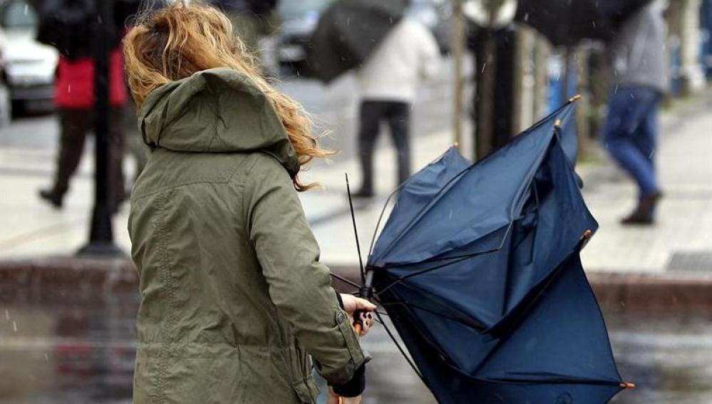 Temporal de nieve, viento y lluvia en España