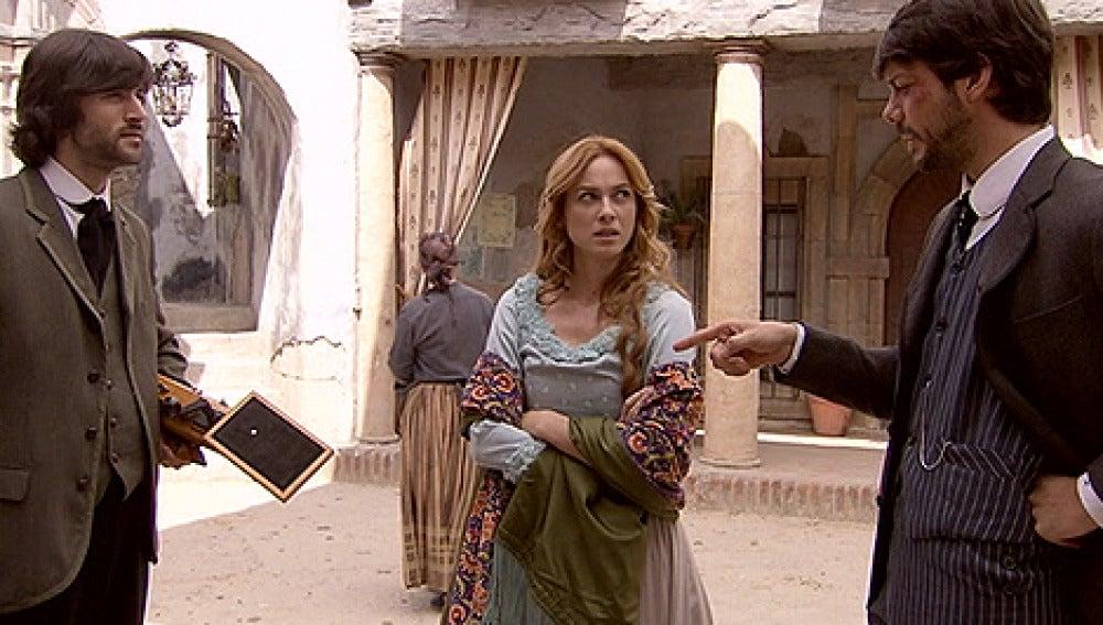 Raúl, Sara y Adolfo