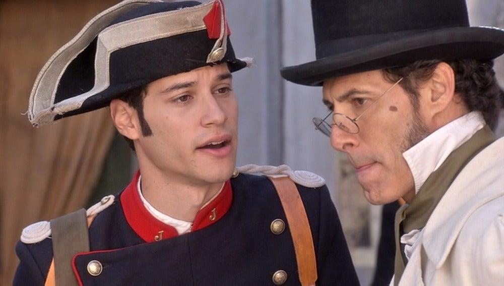 Jairo pide a Juan que le lleve a ver la tumba de Jimena
