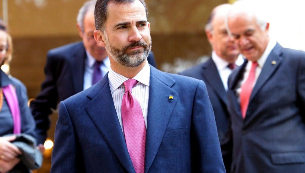 El príncipe Felipe encabezará la delegación española.