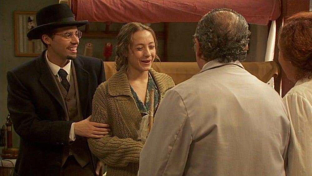 Hipólito presenta a Quintina a sus padres