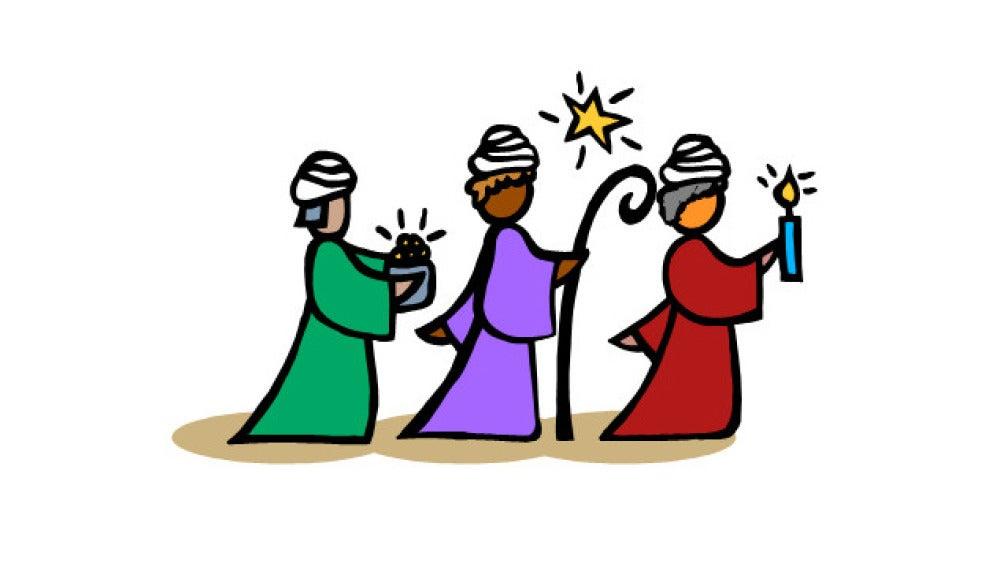 Llegada de los Reyes Magos a Belén