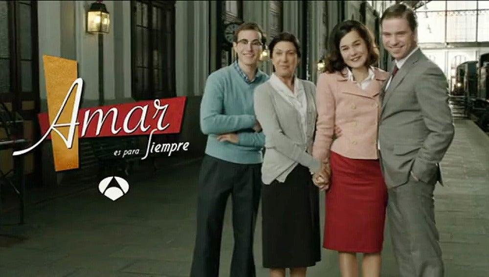 Felisa, Pedrito, Asun y Héctor