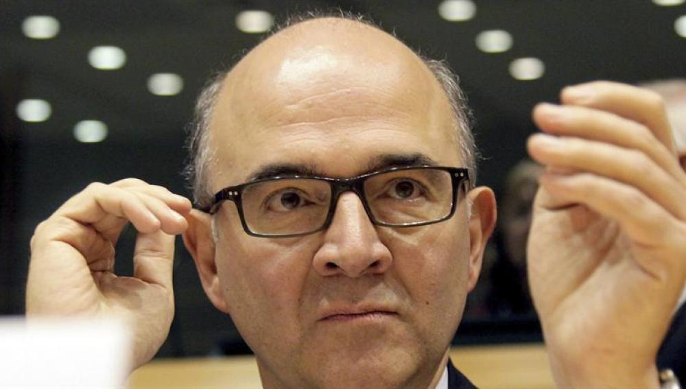 El ministro de Finanzas francés, Pierre Moscovici