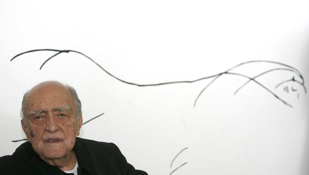 El arquitecto brasileño Óscar Niemeyer