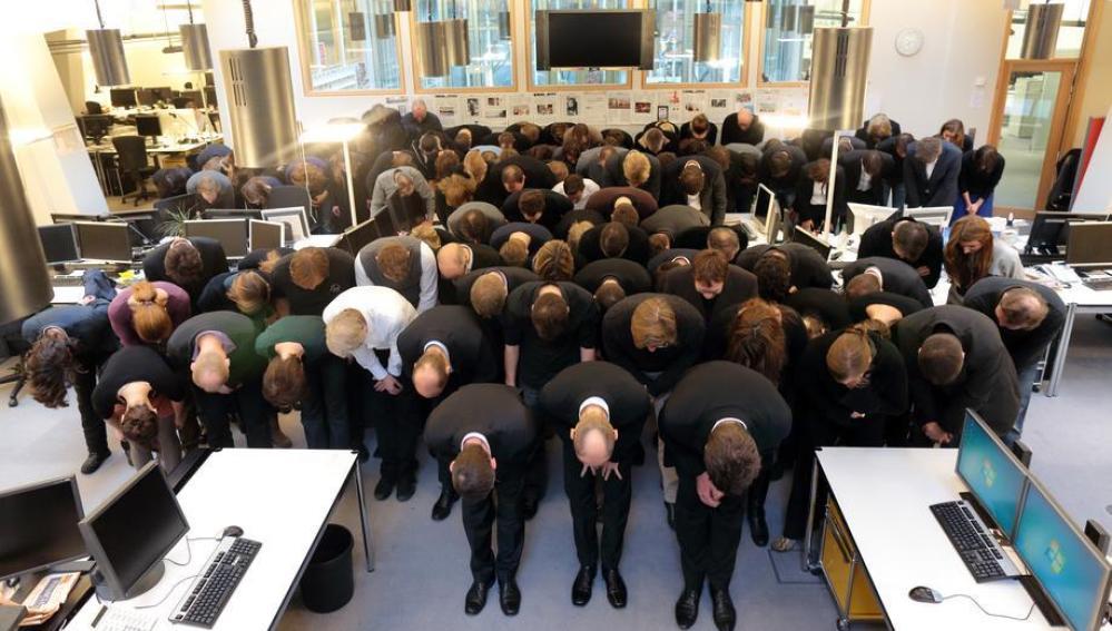 La redacción de Financial Times en Alemania pide perdón