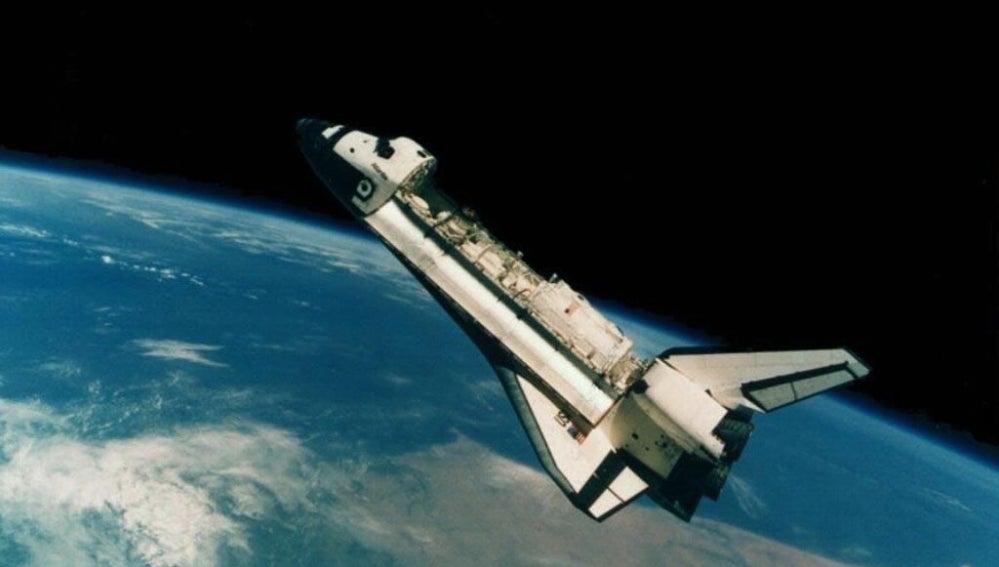 Cohete en órbita