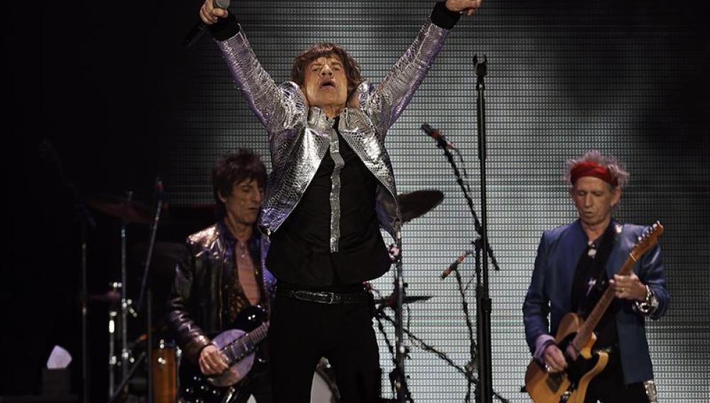 Los Rolling Stones, en su regreso en Nueva York