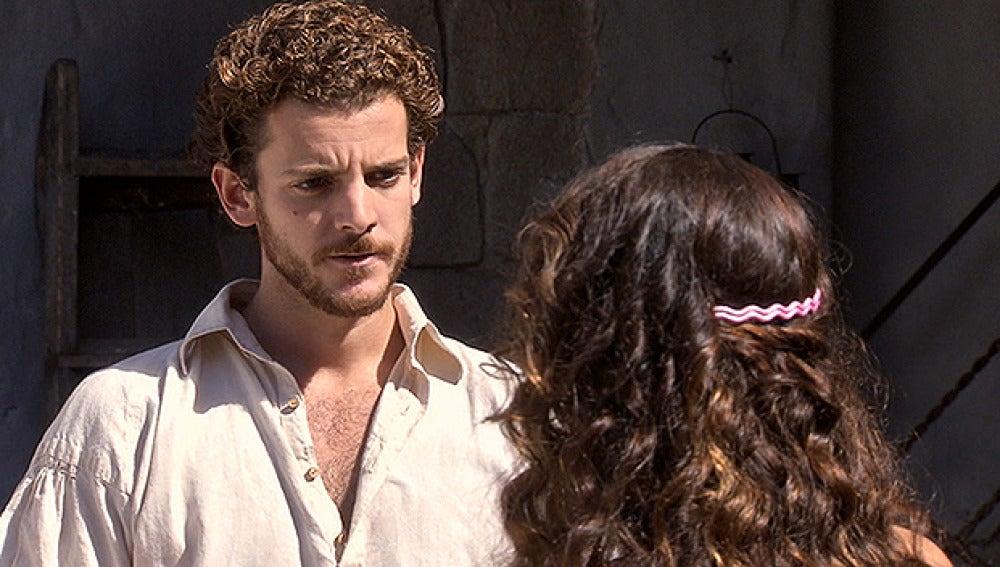 Andrés corta su relación con María