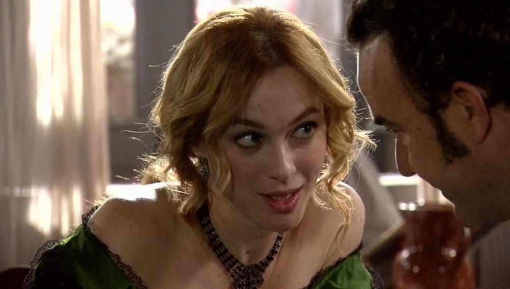 Sara seduce a Antonio