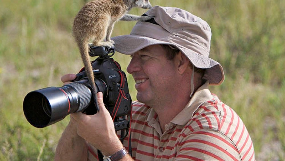 El fotógrafo Heinrich van den Berg