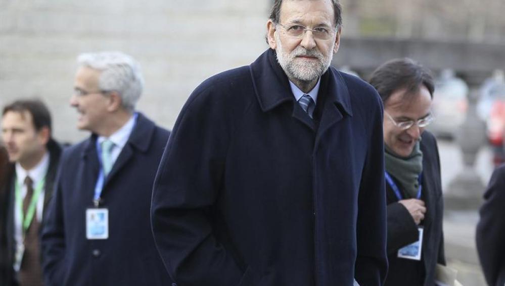 El presidente de Gobierno español, Mariano Rajoy