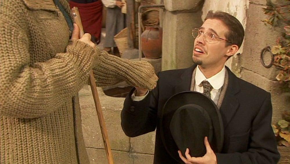 Hipólito propone a Quintina que se case con él