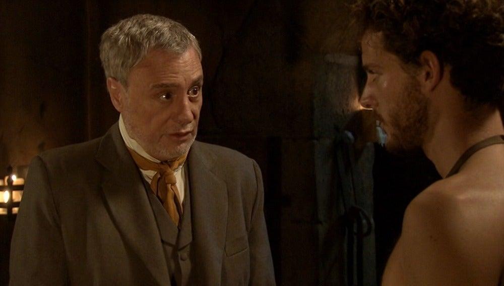 Alfonso aconseja a Andrés