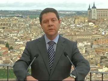 El líder del PSOE de Castilla-La Mancha, Emiliano García-Page