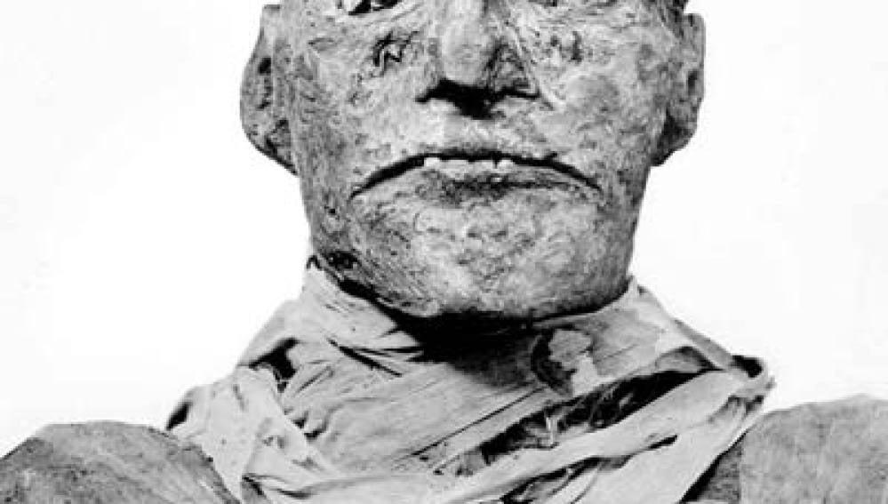 Imagen del faraón Ramses III