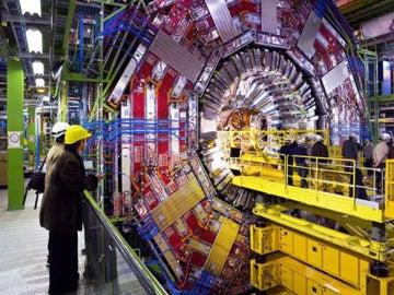Imagen de archivo del acelerador de partículas LHC.