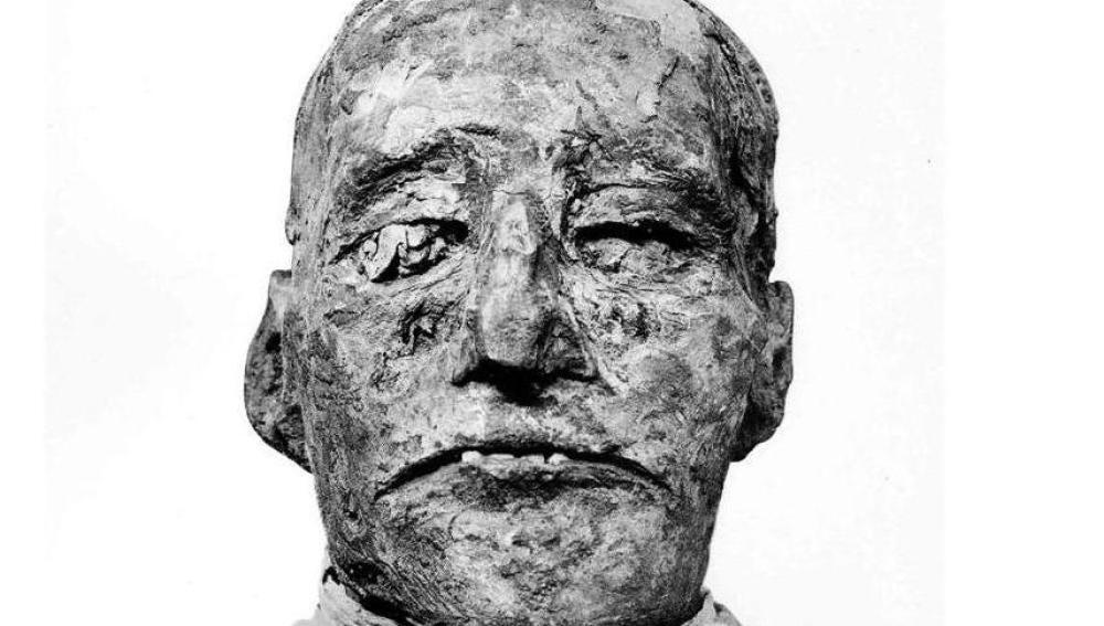 Momia de Ramsés III
