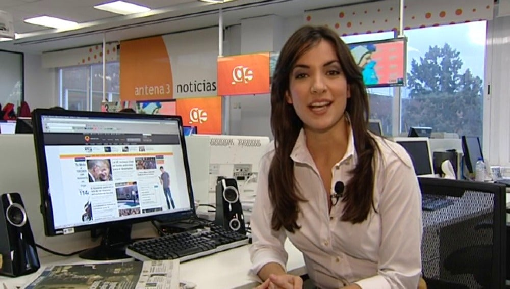 Antena 3 tv esther vaquero elige su noticia del a o for Antena 3 espejo publico hoy