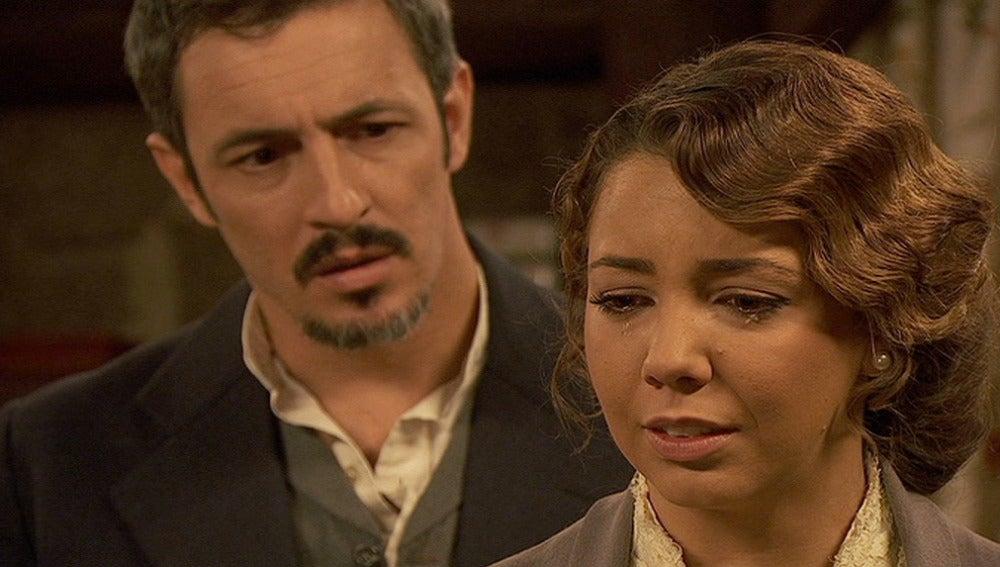 Emilia dispuesta a contarle a Alfonso la verdad sobre María