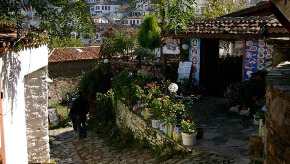 Pueblo de Sirince, ubicado en la provincia turca de Esmirna