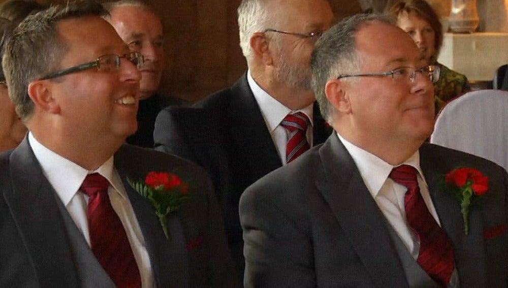 Una pareja australiana se casa en Granada