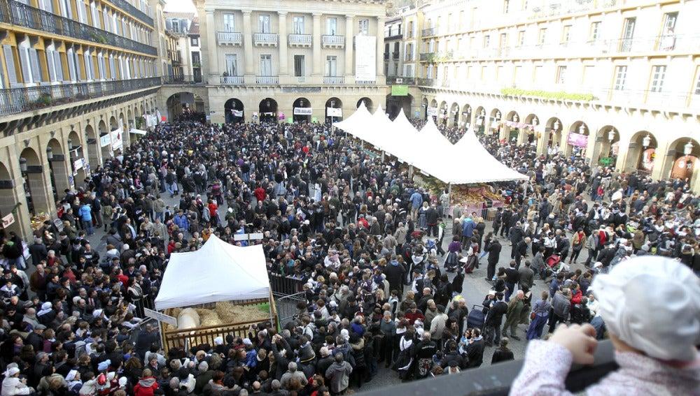 La fiesta de Santo Tomás, en el País Vasco