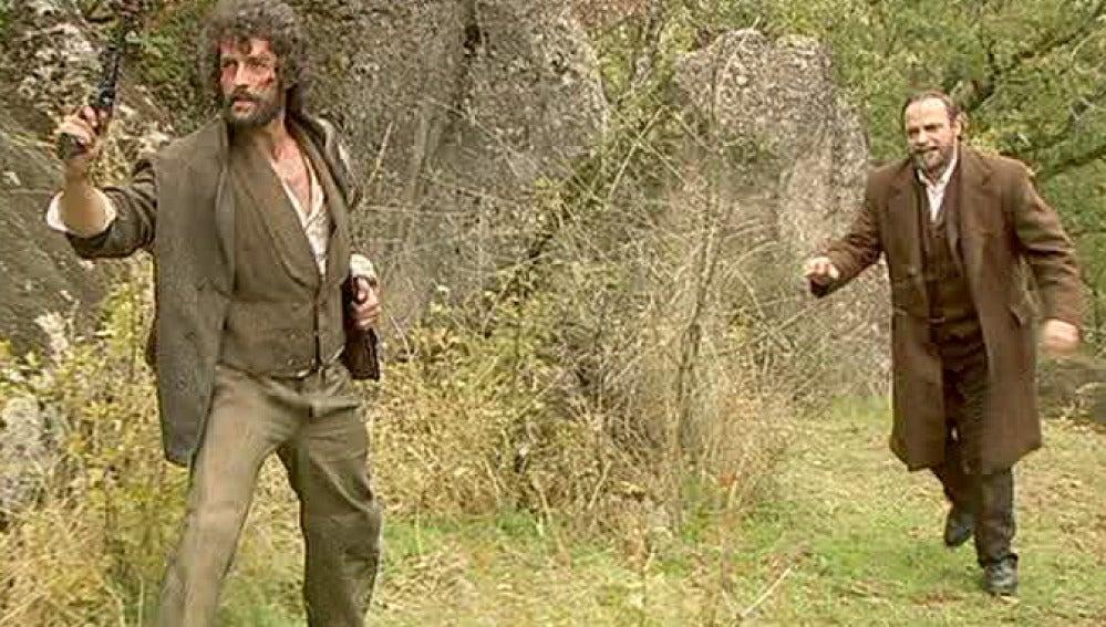 Sebastián dispuesto a matar a Francisca y Raimundo