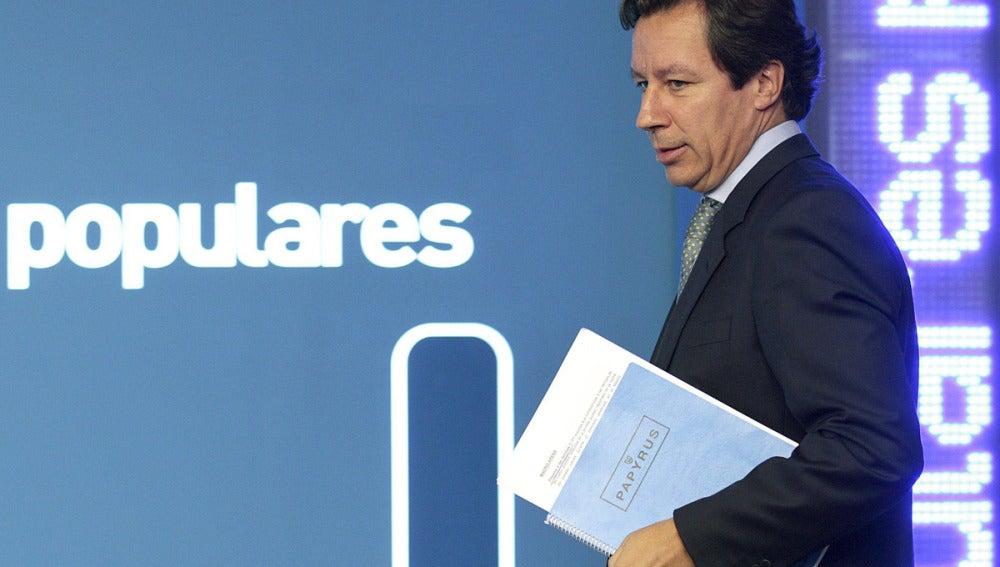 Carlos Floriano, Vicesecretario General de Organización del PP