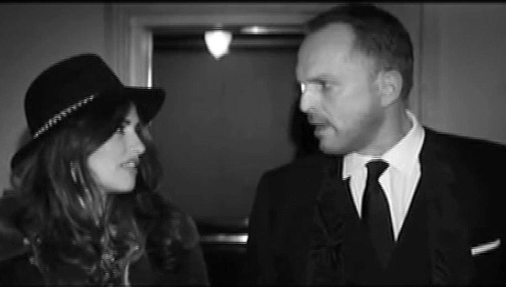 Penélope Cruz en el nuevo videoclip de Miguel Bosé