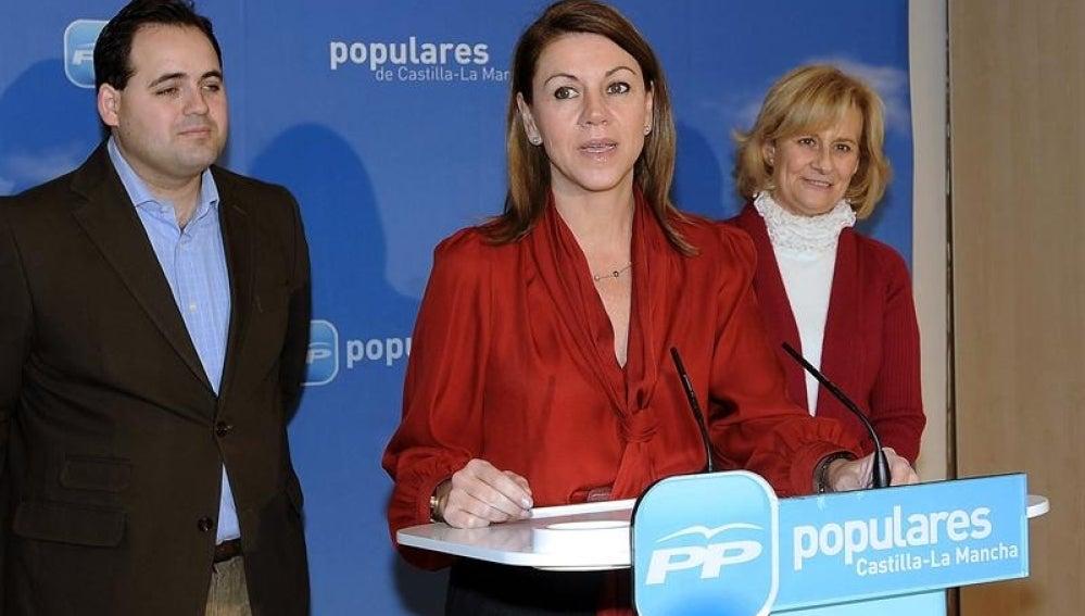 María Dolores de Cospedal, presidenta del PP de Castilla-La Mancha