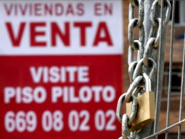 El precio de la vivienda cayó el 6,9% en 2012
