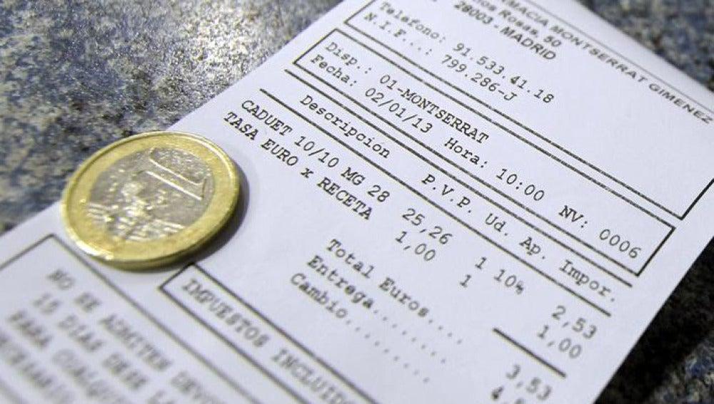 Se implanta el 'euro por receta'