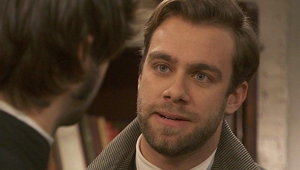 Fernando pide a Gonzalo que el psicoanalista no trate a María