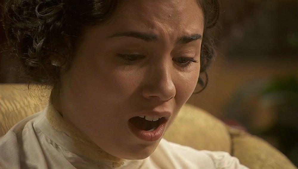María sufre durante el psicoanálisis