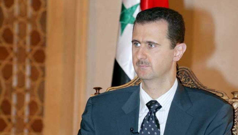 Bachar Al Asad, presidente de Siria.