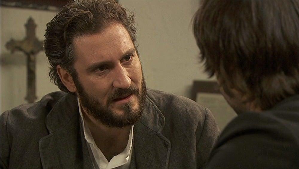 Tristán se siente culpable por interesarse por Candela