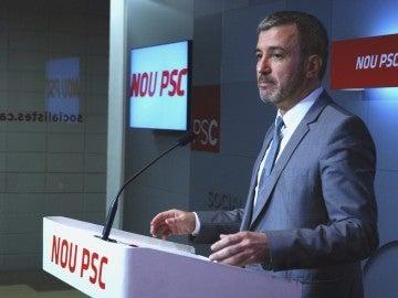 El portavoz del PSC, Jaume Collboni